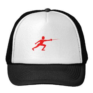 Zaun Zahl - Rot Caps