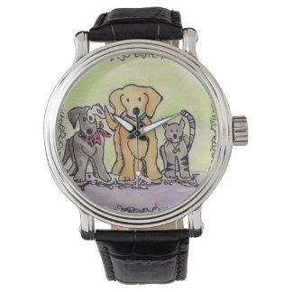 Zaunkönig-, Robby und Jay-Uhr Uhr