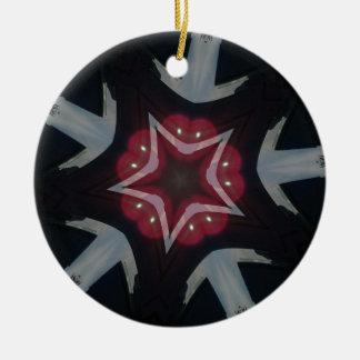 zaz301 rundes keramik ornament