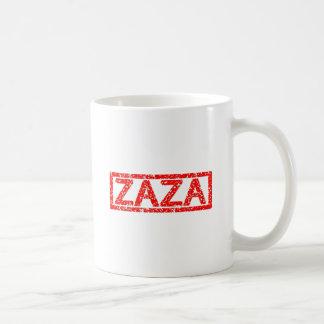 Zaza Briefmarke Kaffeetasse