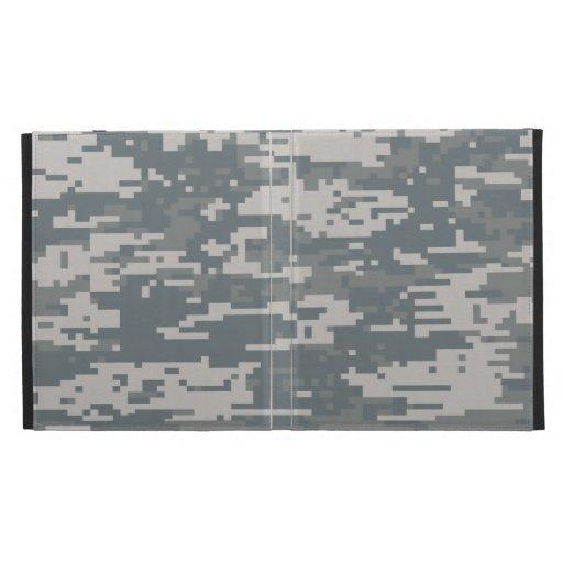 Zazzle Digital Camouflage iPad Folio-Kasten