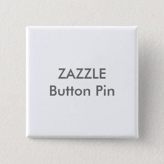 Zazzle kundenspezifische quadratische quadratischer button 5,1 cm