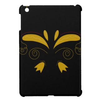 Zazzle Luxusgold mit schwarzen Verzierungen iPad Mini Hülle