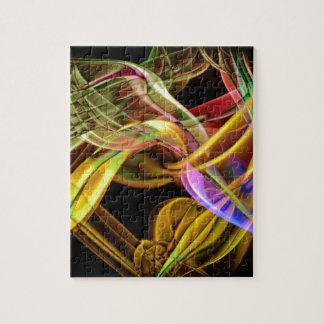 Zazzle Rauch-Kunst-Entwurf (3852) Puzzle