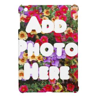 Zazzle Schablonen-Entwurf meine eigene Foto-Gesche iPad Mini Hüllen