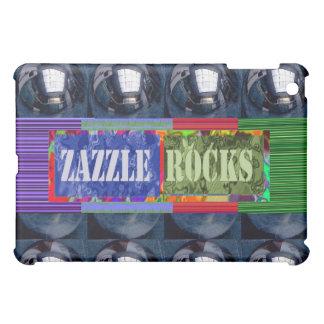 Zazzle schaukelt Entwürfe 2 iPad Mini Hüllen