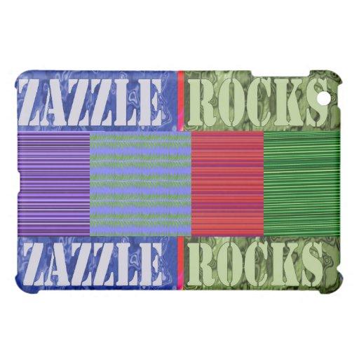 Zazzle schaukelt Entwürfe iPad Mini Hülle