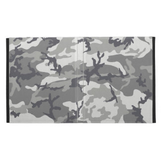 Zazzle städtischer Camouflage iPad Folio-Kasten