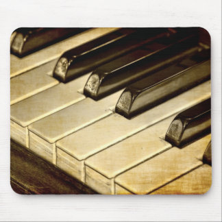 ZazzleTops Preis! Vintages Klavier befestigt Mousepads
