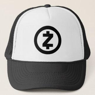 ZCash ZEC Fernlastfahrer-Hut Truckerkappe