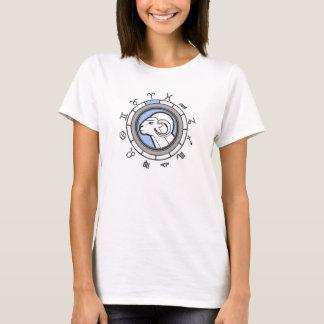 (ZD2) WIDDER Tierkreis-Astrologie-Zeichen T-Shirt