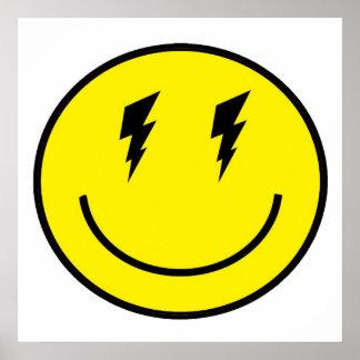 ZE! - Disco-smiley (Plakat) Poster