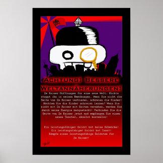 Ze Kaiser Plakat