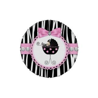 Zeba Babyparty-Süßigkeit Jelly Belly Dosen