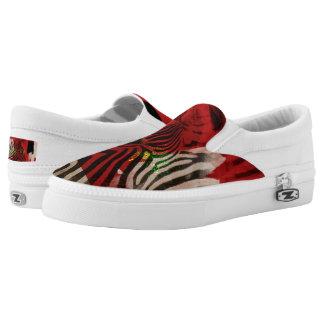 Zebra 4,0 abstrakt Slip-On sneaker