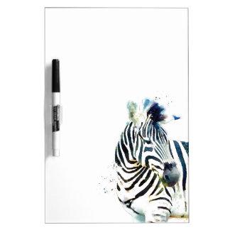 Zebra-Aquarell Memoboard