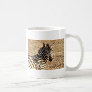 Zebra auf der Savanne Kaffeetasse