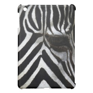 Zebra-Augen-afrikanischer Pferdewild lebende tiere iPad Mini Hülle