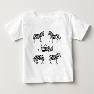 Zebra Auswahl 2 Baby T-shirt