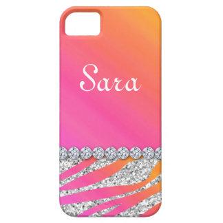 Zebra Bling iPhone 5 Fall-Abdeckungs-niedliches Hülle Fürs iPhone 5