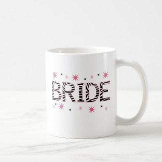 Zebra-Braut Kaffeetasse