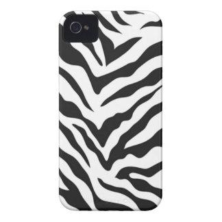Zebra-Druck-BlackBerry-mutiger Kasten iPhone 4 Etuis