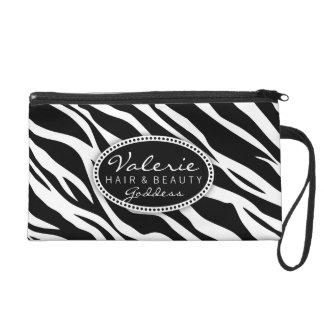 Zebra-Druck-Haar-Salon oder Tasche des
