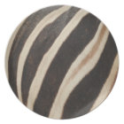 Zebra-Druck-Melamin-Platte Teller