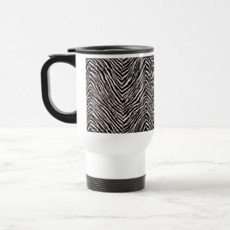 Zebra-Druck-schwarzes u. weißes Muster-cooles Reisebecher