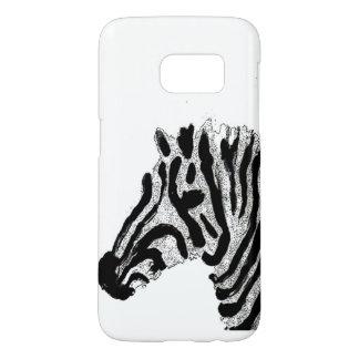 Zebra-Druck-Schwarzweiss-Streifen