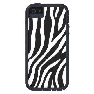 Zebra-Druck-Schwarzweiss-Streifen-Muster Etui Fürs iPhone 5