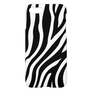 Zebra-Druck-Schwarzweiss-Streifen-Muster iPhone 8/7 Hülle