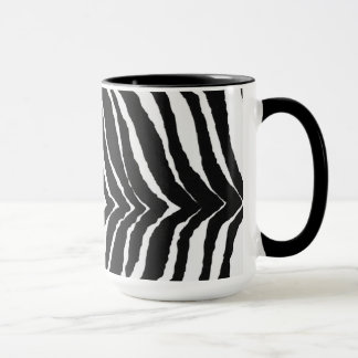 Zebra-Druck Tasse