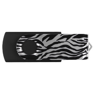 Zebra-Druck USB Stick