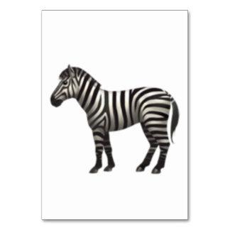 Zebra - Emoji Karte