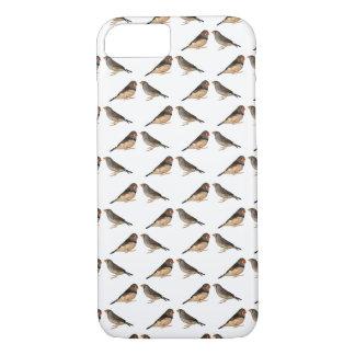 Zebra-Fink-Raserei iPhone 7 Fall (wählen Sie iPhone 8/7 Hülle