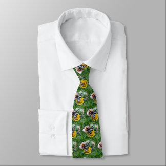 Zebra-Frack+Japanischer Käfer Krawatte