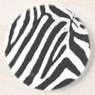 Zebra Getränkeuntersetzer
