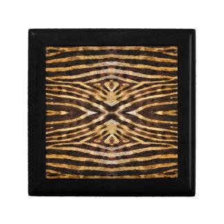 Zebra-Haut-Muster Geschenkbox