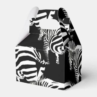 Zebra im Bauernhof Geschenkschachtel