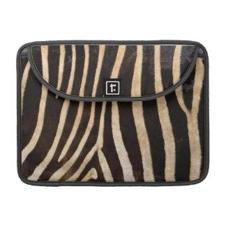 Zebra-Körper-Pelz-Haut-Kasten-Abdeckung MacBook Pro Sleeves