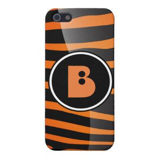 Zebra-Monogramm-Buchstabe B I Schutzhülle Fürs iPhone 5