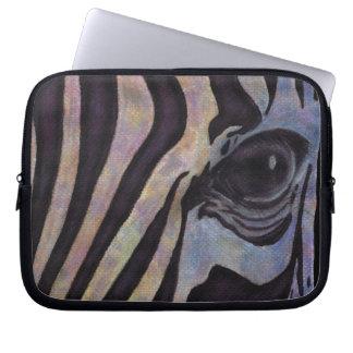 "Zebra-Neopren-Laptop-Hülse 10"" (Lori Corbett) Laptopschutzhülle"