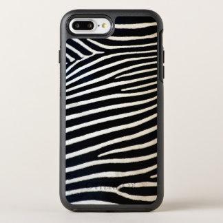 Zebra OtterBox Symmetry iPhone 8 Plus/7 Plus Hülle