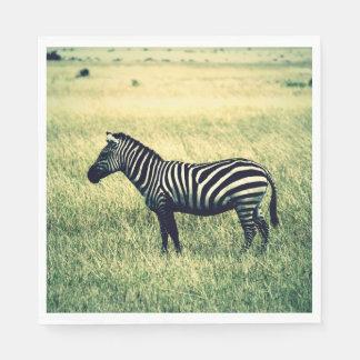 Zebra Papierserviette