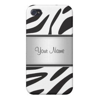 Zebra-Pelz I iPhone 4/4S Hüllen