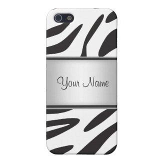 Zebra-Pelz I iPhone 5 Cover