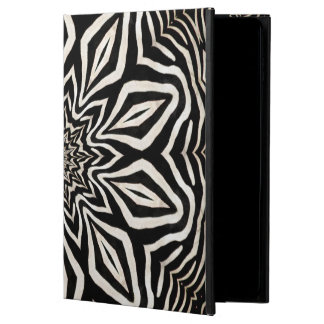 Zebra-Pelz-Kaleidoskop abstrakt