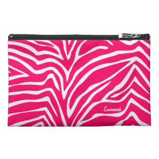 Zebra-rosa schwarze