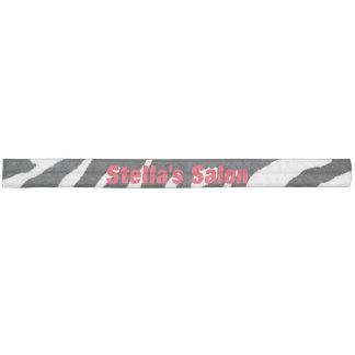 Zebra-Schwarzweiss-Salon-Gewohnheits-Haargummi Haarband